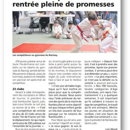 TOURNOI INTERCLUBS DE RAMBOUILLET 19 OCTOBRE 2019